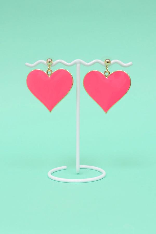 jewels heart earrings earrings