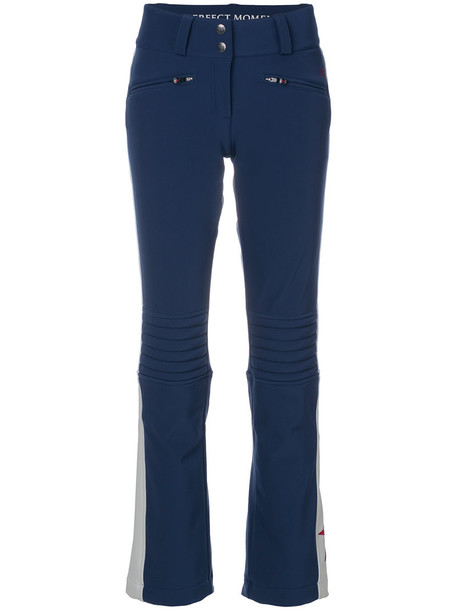 Perfect Moment women blue pants