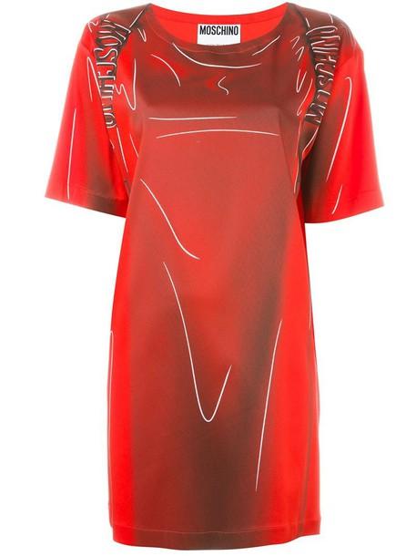 Moschino dress women red