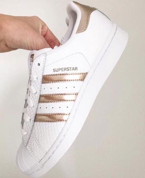 2c74dde367de20 shoes adidas adidas superstars adidas shoes adidas originals gold white adidas  superstars rose gold