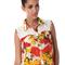 Summer fruit blouse