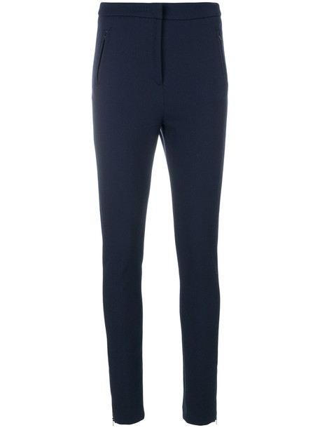 moncler leggings women spandex blue pants