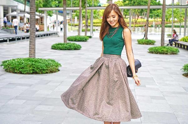 skirt skirt vest elegant streetstyle stylemoi summer outfits