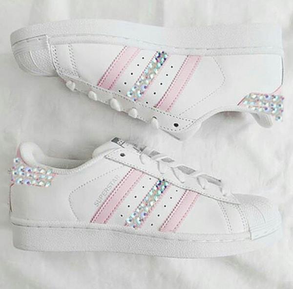 Adidas Original Superstar Made with SWAROVSKI® Xirius Rose
