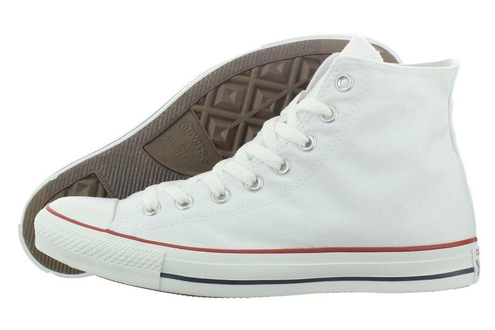 Converse AS Chuck Taylor M7650 High Top Casual White Shoes Medium (B, M) Women