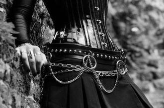 skirt goth belt goth hipster goth corset