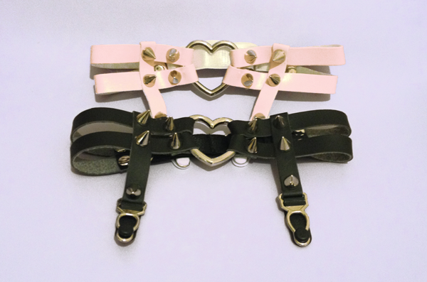 Heart garter from tedisu on storenvy