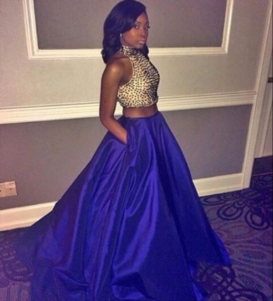 Dress Pink Dress Two Piece Prom Dress Set Prom Set Prom Dress