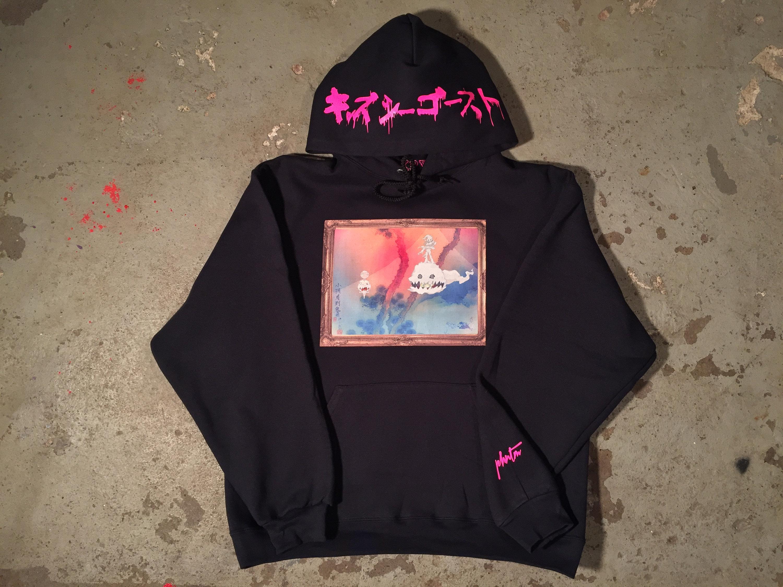 Kids see ghosts hoodie Ye Wyoming hoodie astroworld Kanye west kid cudi Travis Scott hoodie listening album tour merch unisex shirt hoodie