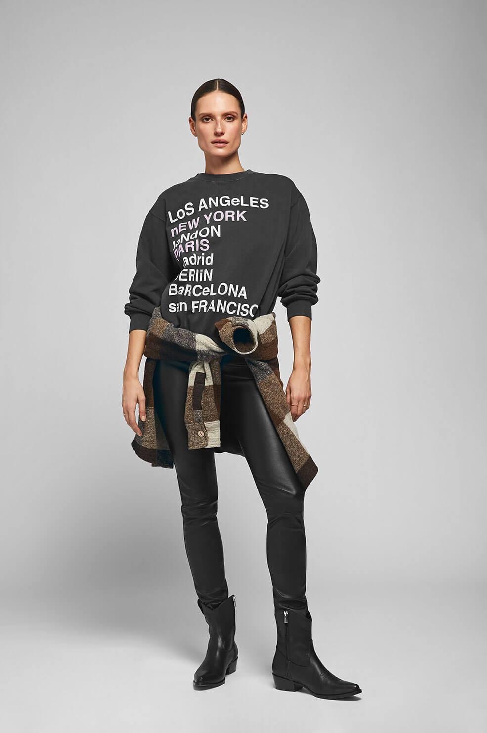 City Love Sweatshirt - Charcoal