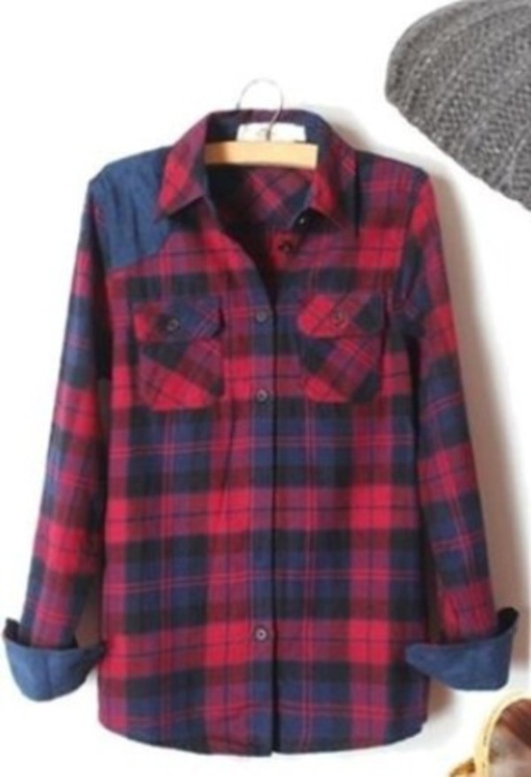 blouse flannel plaid celebrity flannel shirt plaid jacket fall sweater fall outfits brandy melville hipster fashion