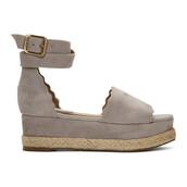 sandals,suede,grey,shoes