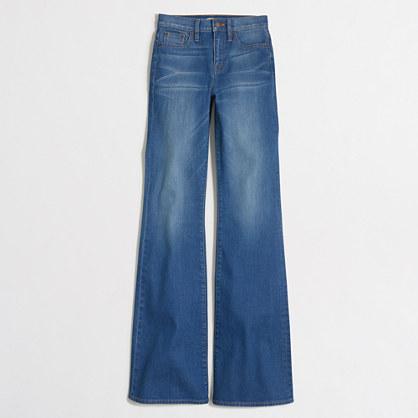 daisy wash flare jean
