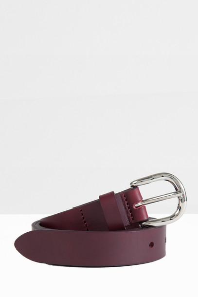 Isabel Marant etoile belt leather red