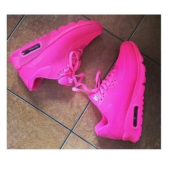 best cheap a2c87 a7a8a nike air max 90 hyperfuse qs womens shoes all fushia