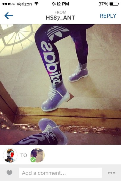 pants adidas clear shoes tights leggings