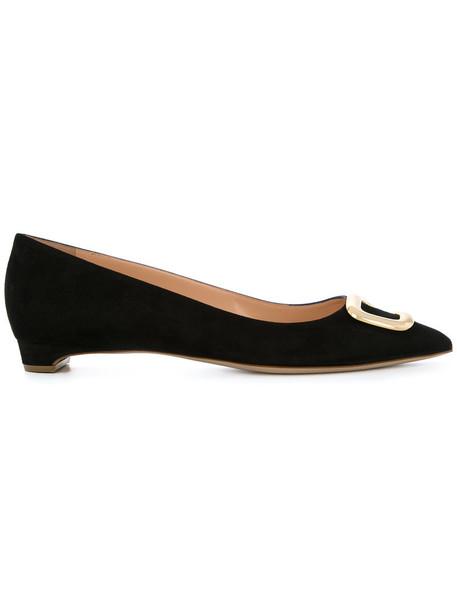 Rupert Sanderson women leather black shoes