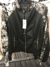 jacket,nordstrom rack,leather jacket,black jacket