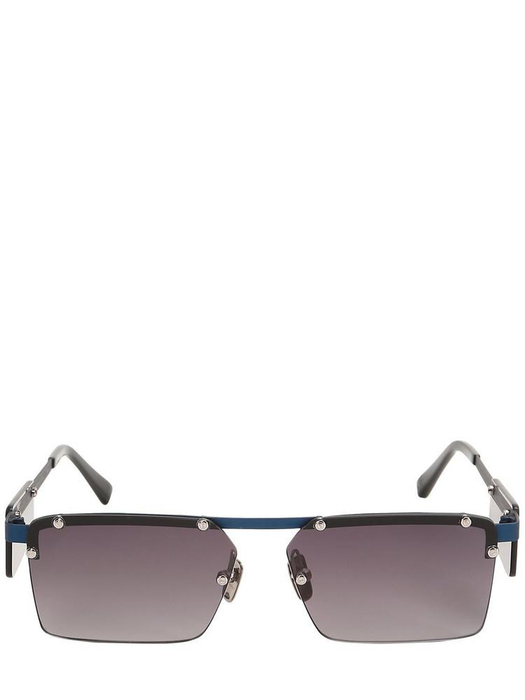 ITALIA INDEPENDENT Gilles Aluminum Sunglasses in blue