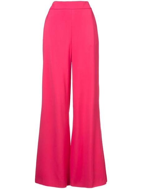 high waisted high women spandex purple pink pants