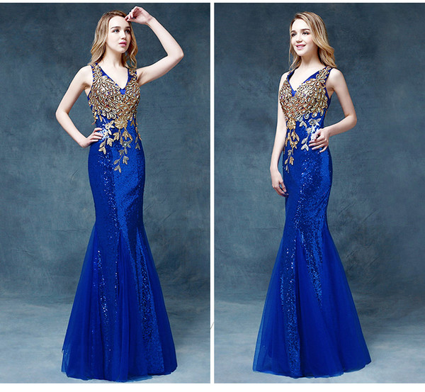 dress sexy long prom dress prom gown evening dress evening dress party dress sequins dress floral dress wedding guest dress engagement ring 2016 prom dress long homecoming dress bridesmaid v neck cheap prom dress prom dress long mermaid prom dress engagement party dress graduation dress elegant long dresses blue