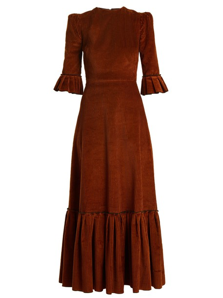 THE VAMPIRE'S WIFE dress cotton brown