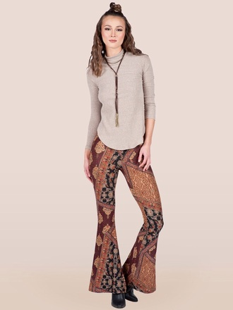 tights bell bottoms bottoms