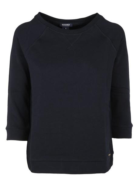 Woolrich sweatshirt blue sweater