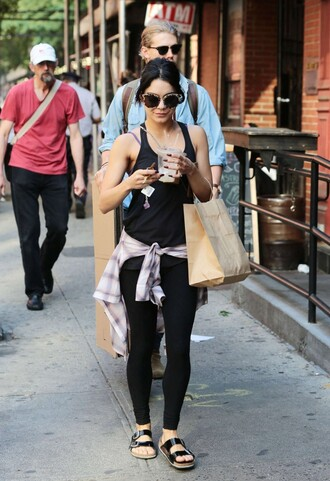 tank top leggings vanessa hudgens sportswear shirt