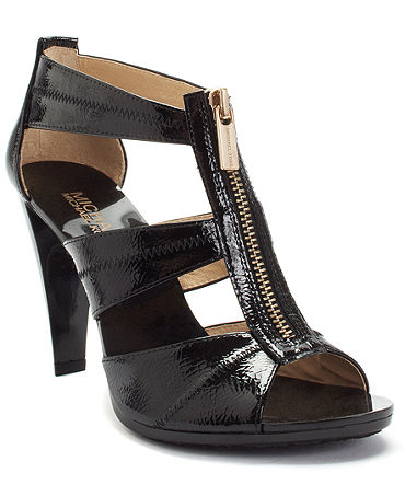 MICHAEL Michael Kors Berkley T-Strap Sandals - Shoes - Macy's