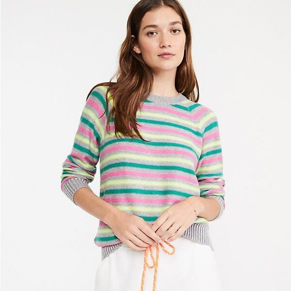 Striped Softside Sweater
