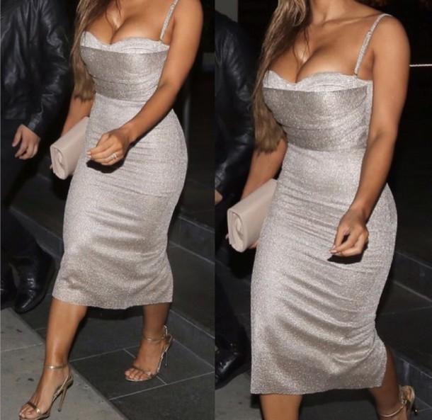 dress midi dress sequin dress gold dress bustier dress sequins midi dress evening dress