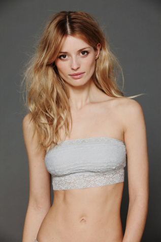 intimately womens lace trim bandeau