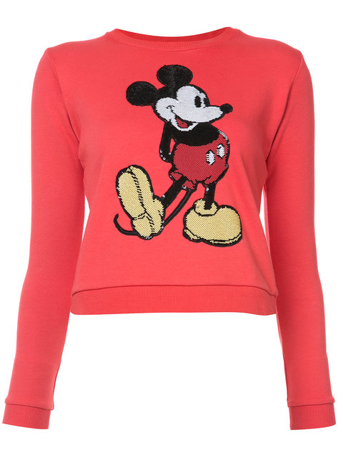 Marc Jacobs Mickey Mouse Embroidered Sweater - Farfetch