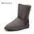 snow boots Picture - More Detailed Picture about Top Quality Genuine Sheepskin Leather Snow Boots for Women Waterproof Winter Boots 100% Natural Fur Wool Women Boots Picture in Snow Boots from DDR Store | Aliexpress.com | Alibaba Group