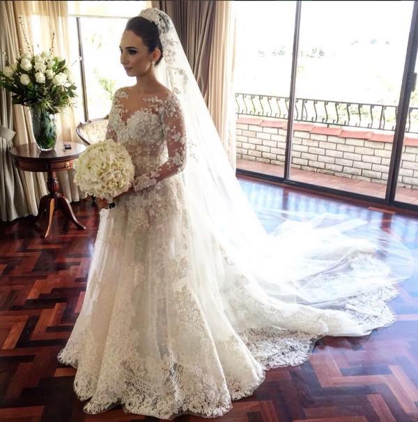 Zuhair Murad 2015 Fall Wedding Dresses With Breathtaking Illusion