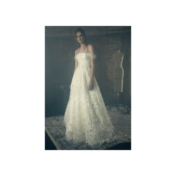 dress nourishinglotion ivory dress sweet embroidery wedding dresses tulle dress