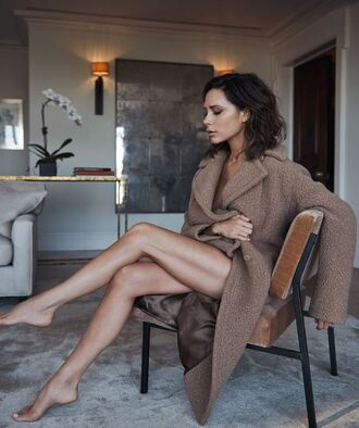 coat victoria beckham winter coat editorial vogue