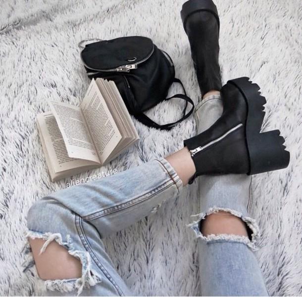 shoes jeans grunge grunge wishlist vintage fashion