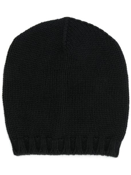 Lamberto Losani women beanie black hat