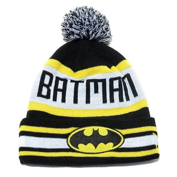 Free Shipping Wholesale Men's Fashion caps New Arrival BATMAN beanie hats -in Skullies & Beanies from Apparel & Accessories on Aliexpress.com