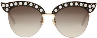 pearl sunglasses black