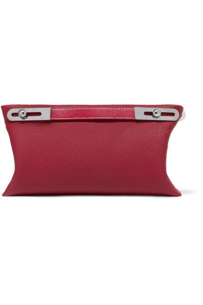LOEWE bag shoulder bag leather red