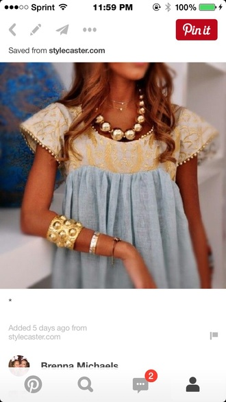 top blue shirt yellow top blue and yellow dress lace top