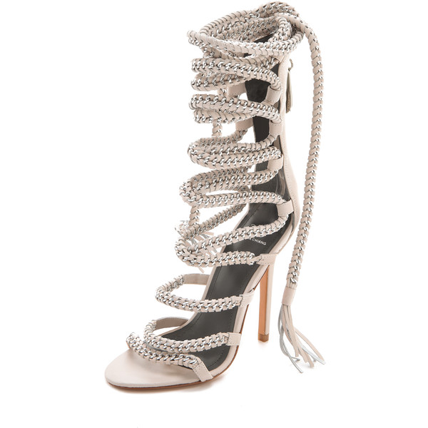 Monika Chiang Imena Lace Up Sandals