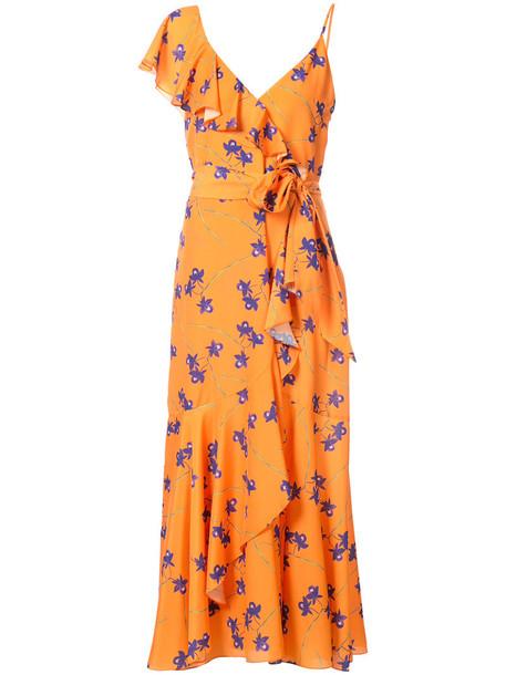 Borgo De Nor dress women yellow orange