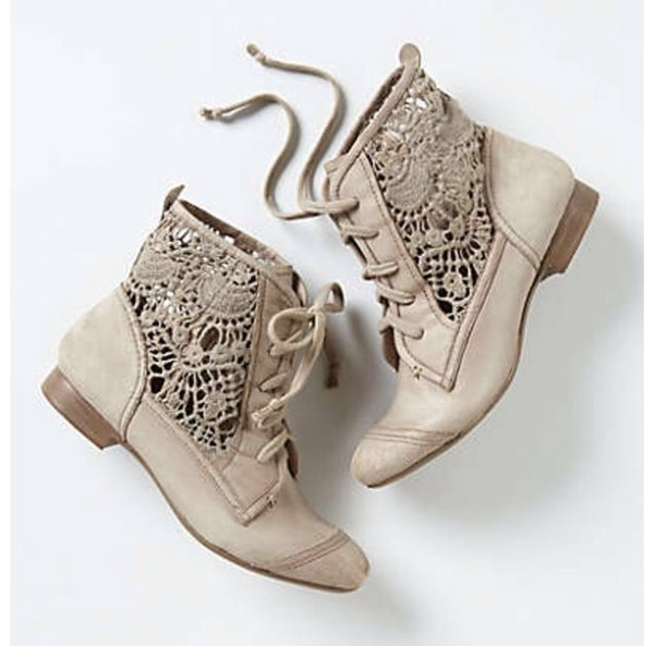 shoes tan booties cute stylish lace cut-out cutoutbooties openboots