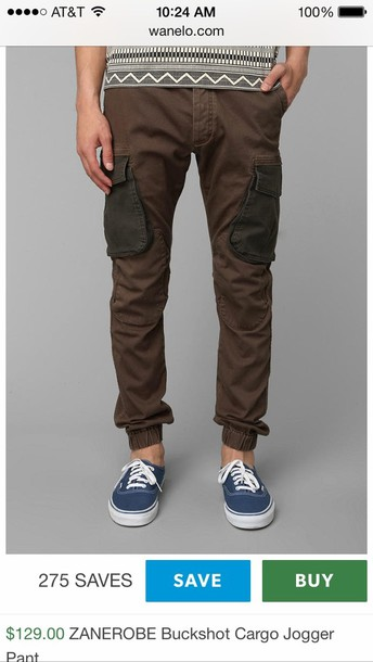pants brown olive