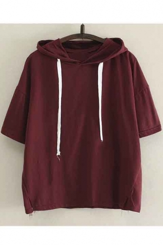 shirt burgundy hoodie summer trendy fashion style comfy casual cool sporty beautifulhalo