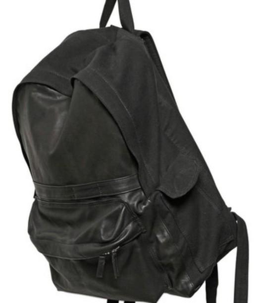 bag black backpack